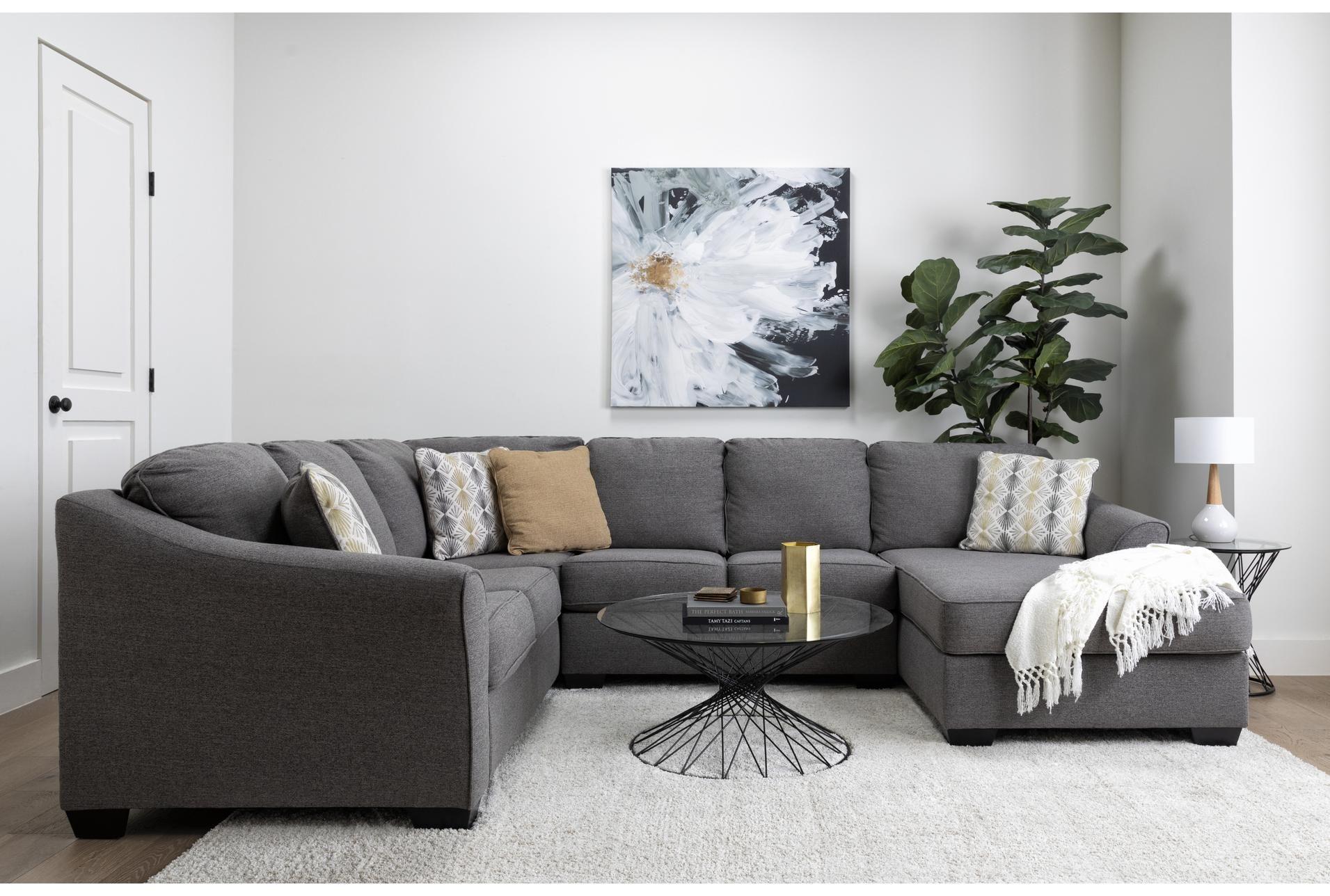 90x114 Rug Elation Shag Heather Ivory Sectional Sofa 3 Piece Sectional Sofa Sectional Sofa Couch [ 1288 x 1911 Pixel ]
