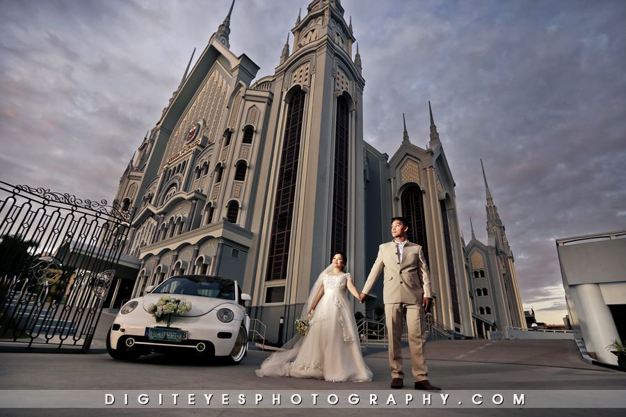 Wedding of RON and ZUZETTE Iglesia ni Cristo WEDDING - Locale of - invitation maker in alabang town center