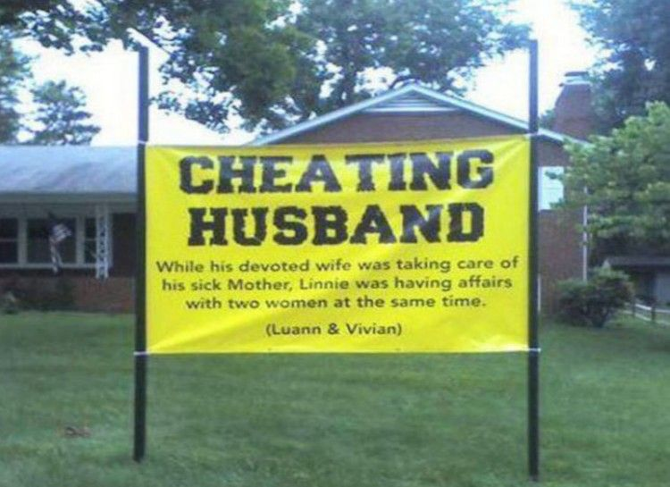 Best revenge on cheating spouse