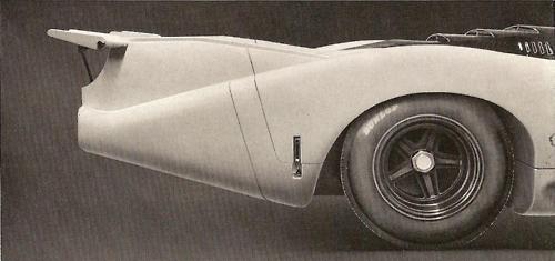 1969 Porsche 917    Porsche 12cyl 4494cc (274ci) / 520 hp /896kg (1975lbs)    Interesting tails