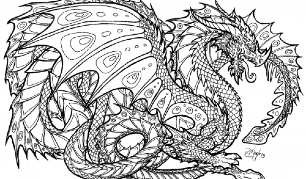 Dragon Coloring Pages For Adults Realistic Dragon Coloring Pages Detailed Coloring Pages Unicorn Coloring Pages Mandala Coloring Pages
