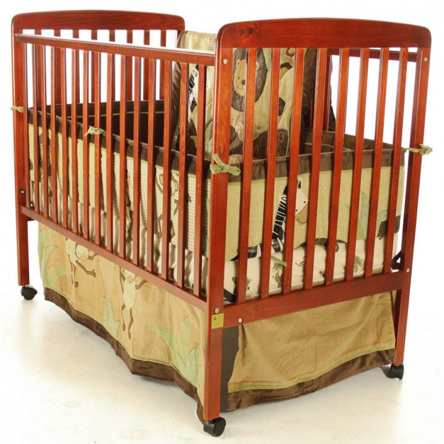 Dream On Me Bethany II 2-in-1 Crib in Cherry - 670-C ...