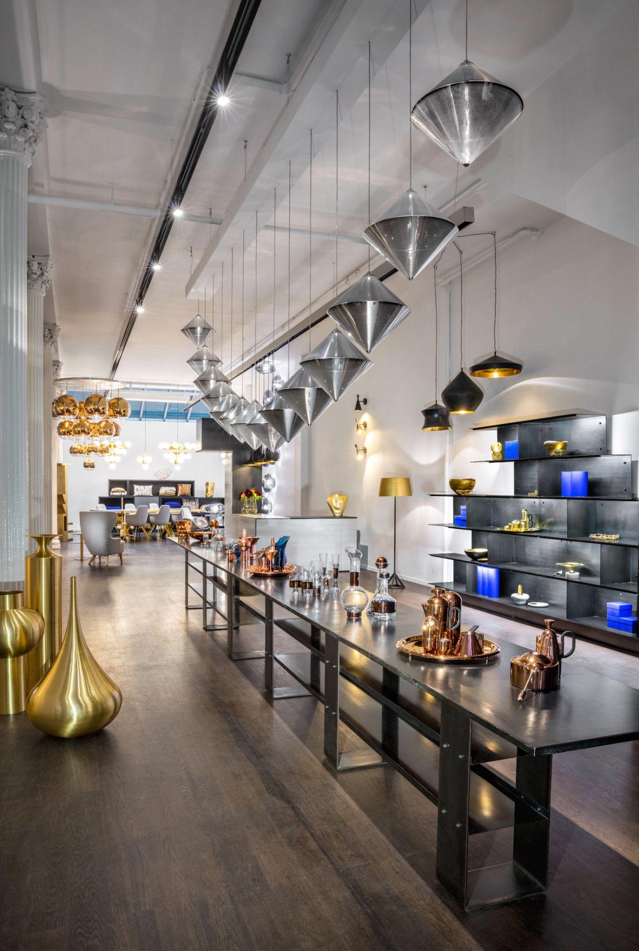 Tom Dixon S Plans For His New Showroom In New York S Soho Design