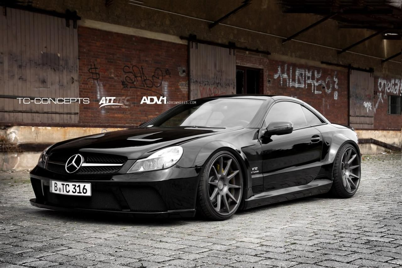 Mercedes benz amg tc concepts mercedes sl65 amg 1 for Mercedes benz e series amg