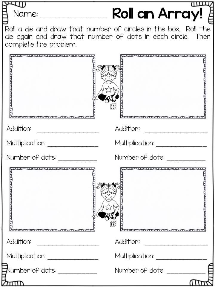 arrays worksheets 2nd grade repeated addition arrays little achievers 39 resources array. Black Bedroom Furniture Sets. Home Design Ideas