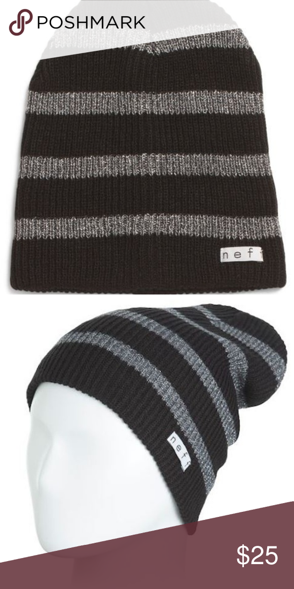 4d534ed7 NEFF Zumiez PacSun Daily Sparkle Knit Beanie Daily Sparkle Stripe from Neff.  Ribbed knit with