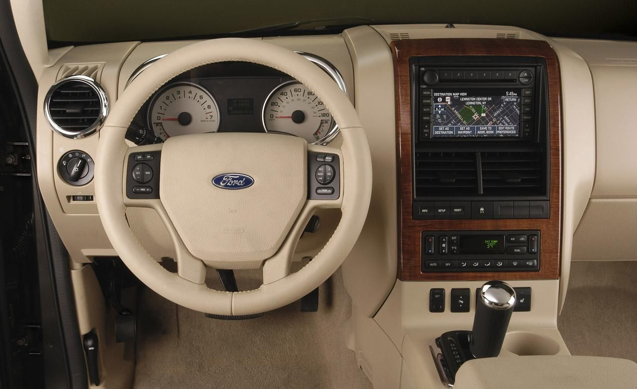Ford Explorer America Interior