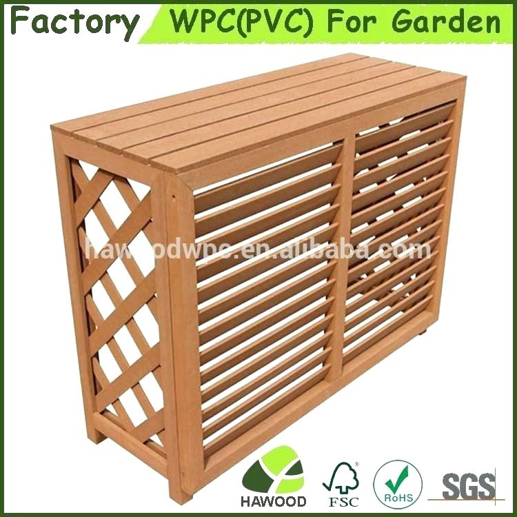 Decorative Indoor Wall Air Conditioner Cover Wooden