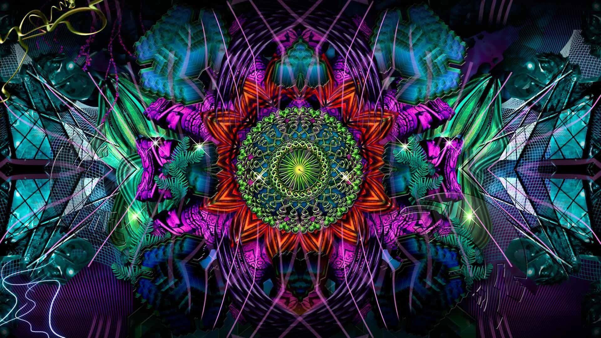 Psychedelic Art Fractal Art Digital Art Kaleidoscope Design Trippy Wallpaper Fractal Art Psychedelic Art