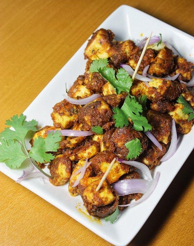 Tawa paneer tikka recipe paneer amritsari recipe for Amritsari cuisine