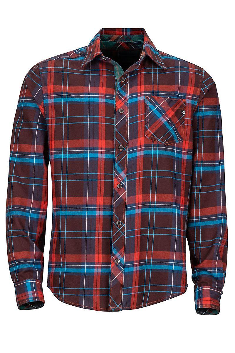 Men's Anderson Lightweight Flannel Long-Sleeve Shirt ...