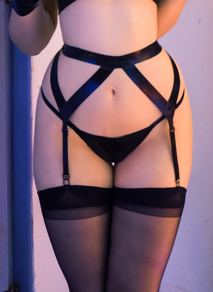 Latex G String 55