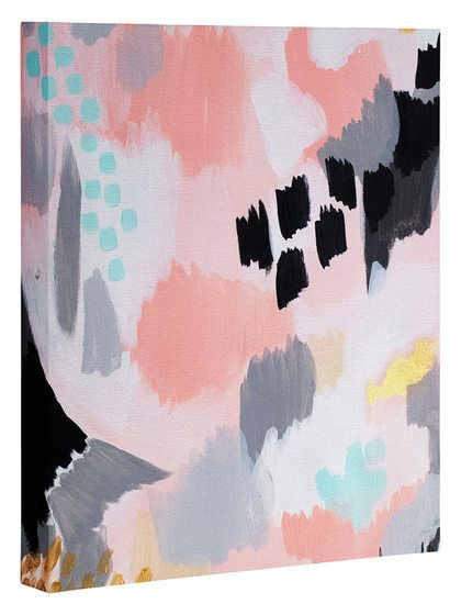Serenity Abstract by Laura Fedoroqicz (Canvas) by DENY Designs at Gilt