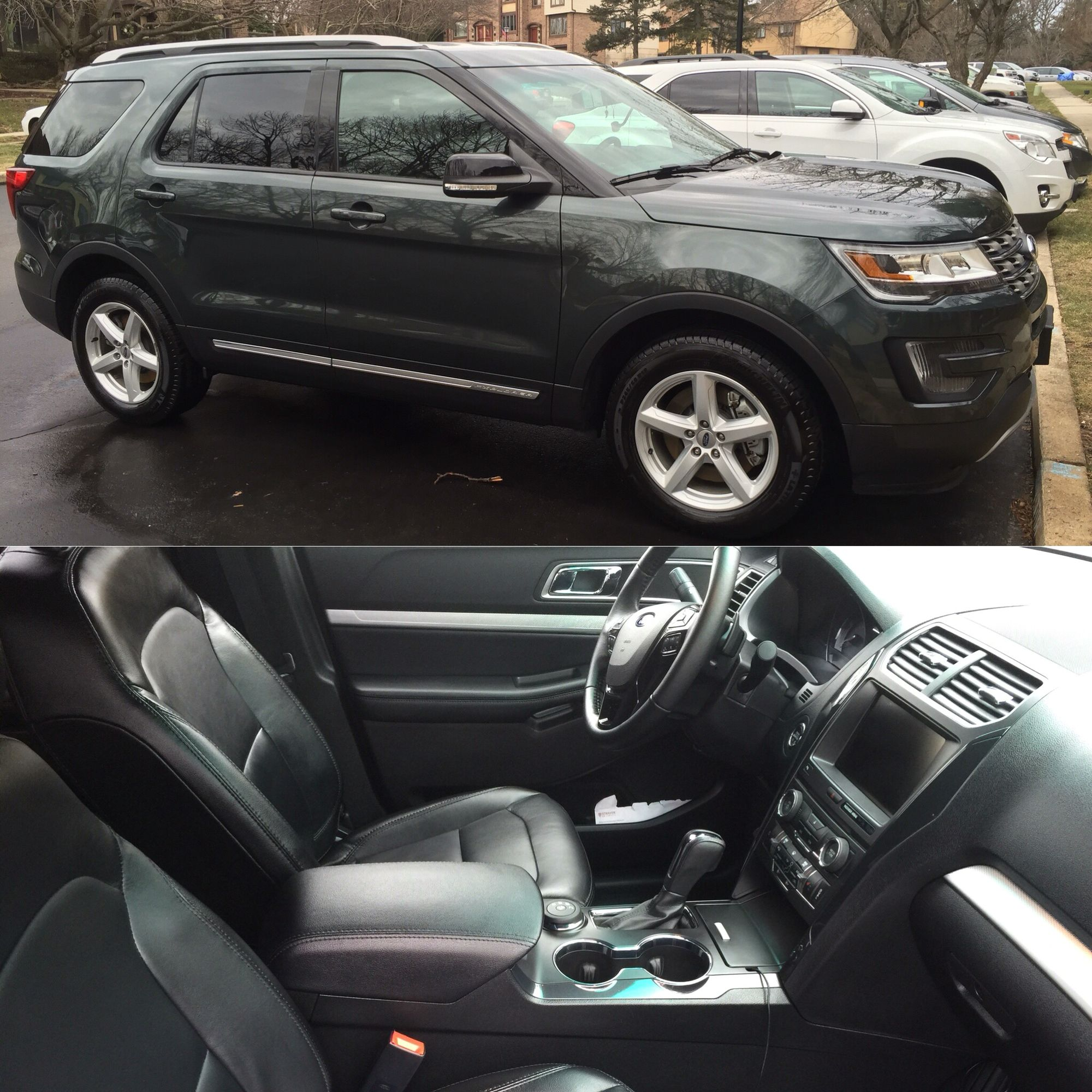 2015 Ford Explorer On My Monthly Maintenance Plan Ford Explorer