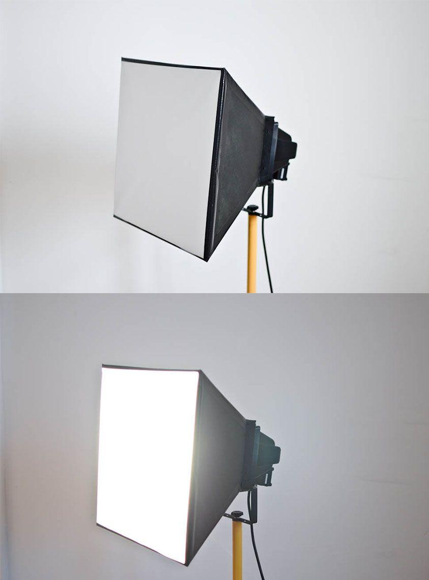 Eine Softbox Selber Bauen Selber Bauen Licht Fotografie Diy Fotostudio