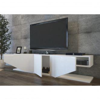 meuble tv nci blanc living room tv