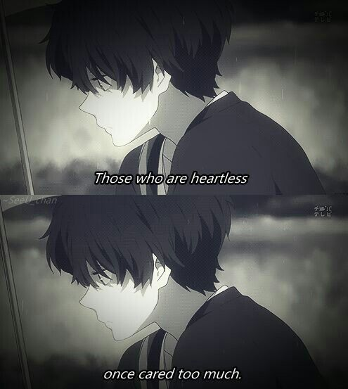 Manga Anime Just Because: Hyouka— Just Because It Seems Like We Dont Care Doesnt