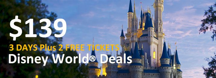 3, 4 And 5-Day Packages Include Hotel & Disney® World