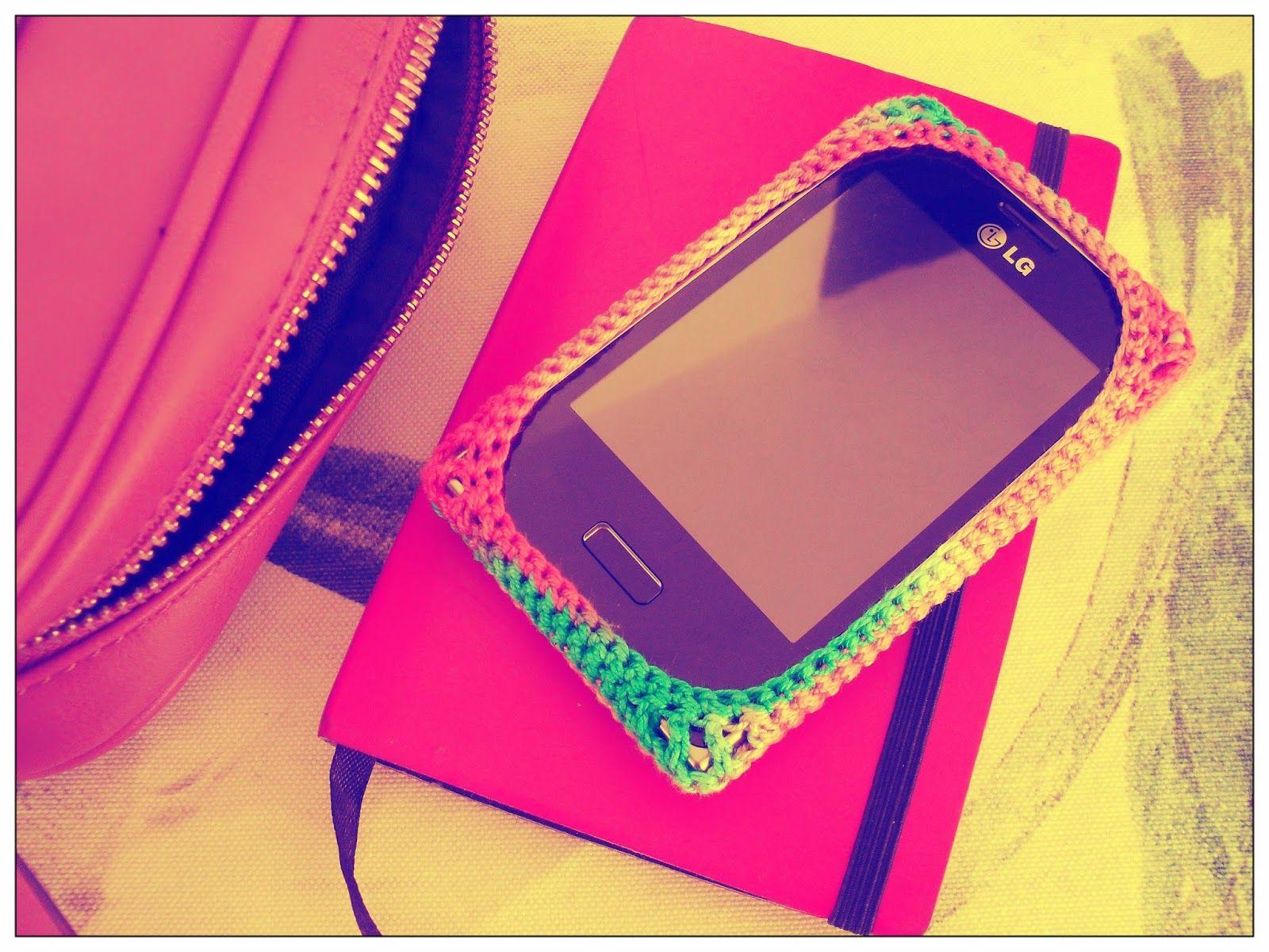 Smartphone crochet case   Maparim