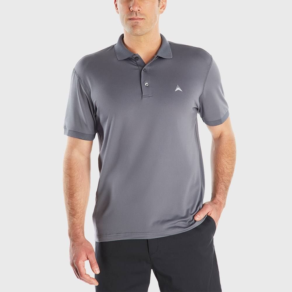 79bcee5f Faded Glory Mens Short Sleeve Solid Pique Polo Shirt - DREAMWORKS
