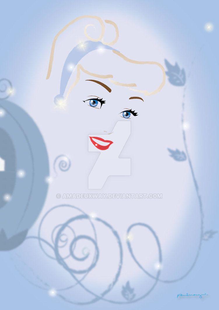 Cinderella | Disney | Pinterest | Siluetas femeninas, Siluetas y ...