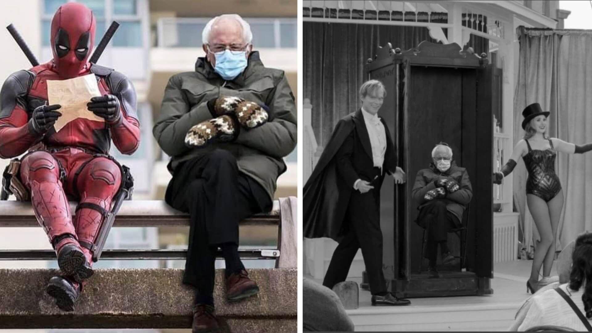 Marvel Stars Share Bernie Sanders Memes In 2021 Bernie Memes Marvel Bernie Sanders Meme