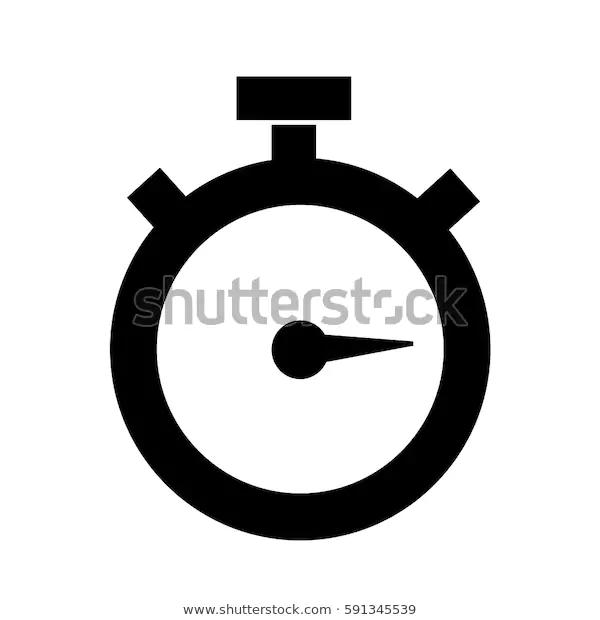 Stopwatch Icon Stock Vector Royalty Free 591345539 Stock Vector Vector Stopwatch