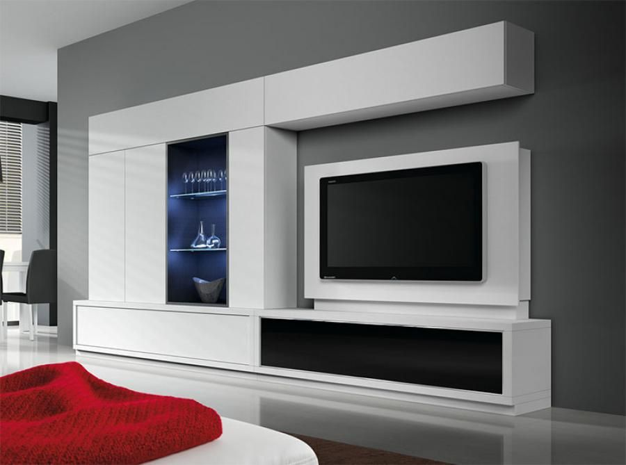 Baixmoduls Modern Living Room Wall Storage System: Storage Cabinet Living  Room