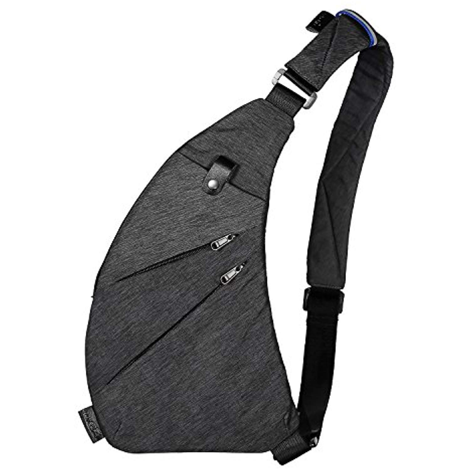 c60b4590903f Sling Backpack Shoulder Chest Crossbody Bag Lightweight Casual Outdoor  Sport Travel Hiking Multipurpose Anti Theft Cross Body Back Pack Bags Up to  7.9 Inch ...