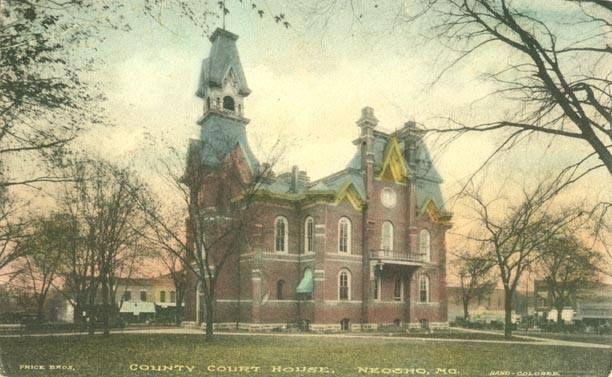 1911 Neosho Court House With Images Neosho Neosho Missouri Southwest Missouri