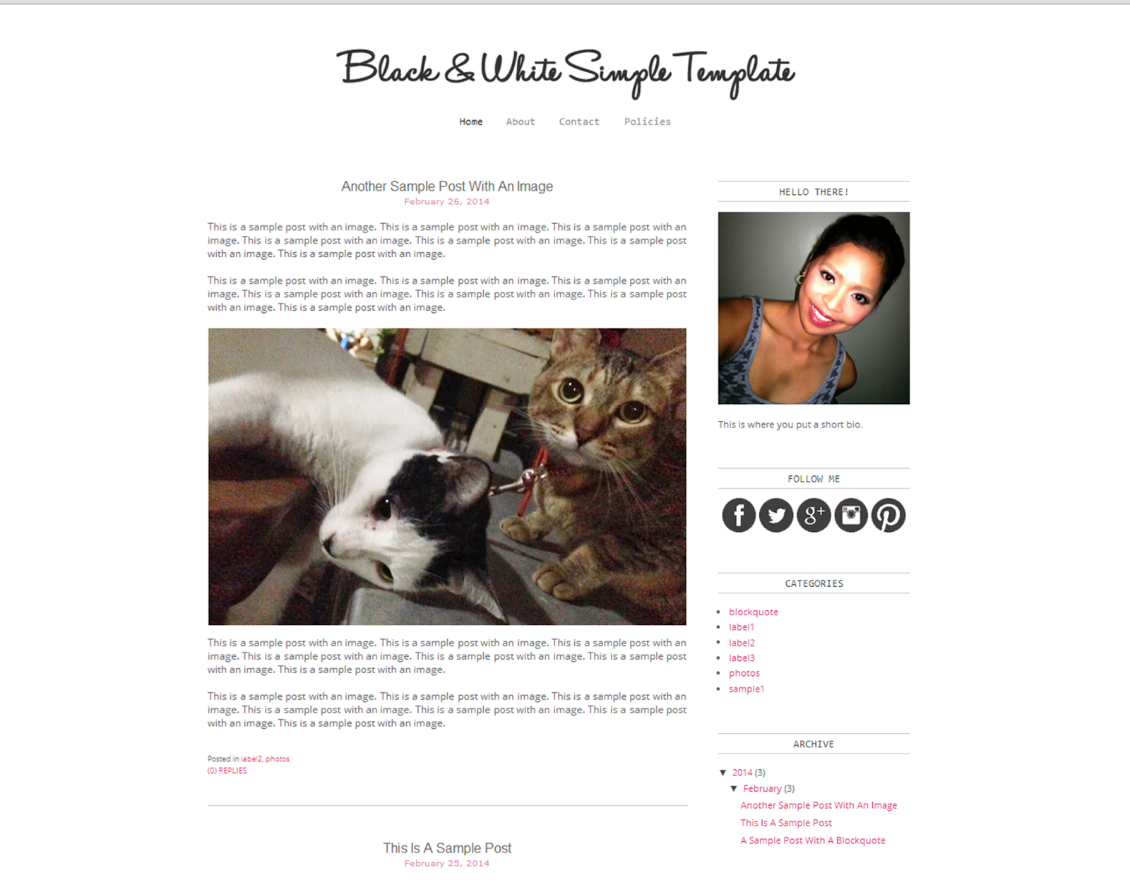 Color It YOU | Blog Design & Tips: Blogger Template Experiment 5 ...