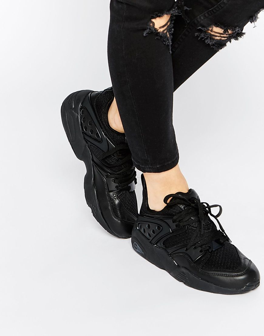 Buy Women Shoes / Puma Blaze Of Glory Yin Yang Black Trainers