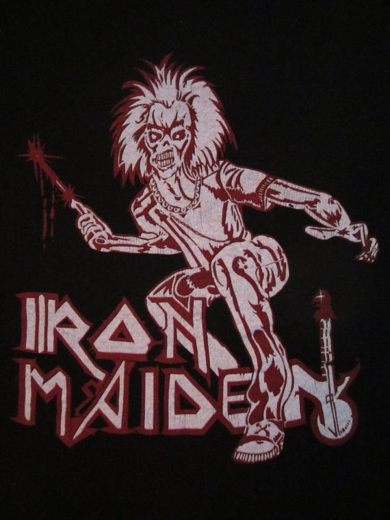 early 80s IRON MAIDEN TSHIRT