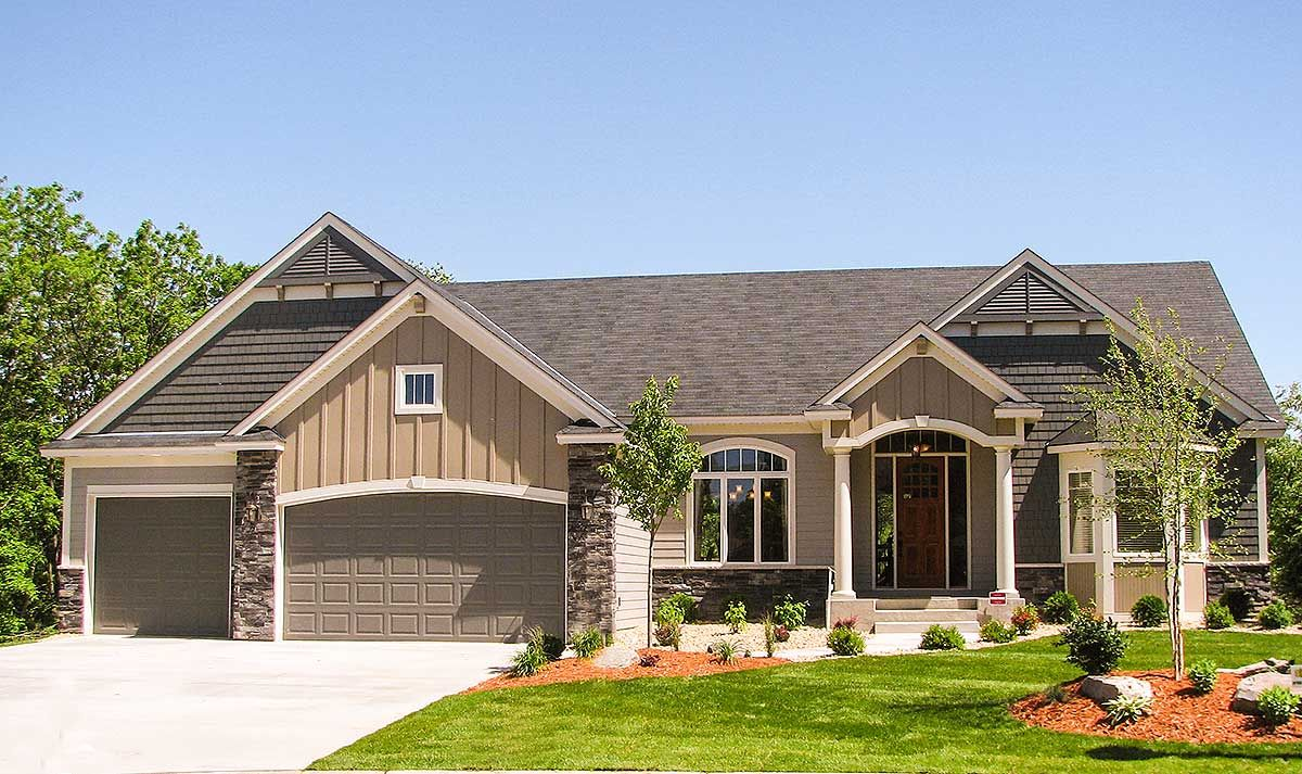Plan 73279hs Just The Right Size Craftsman House Plans Ranch House Plans Craftsman House