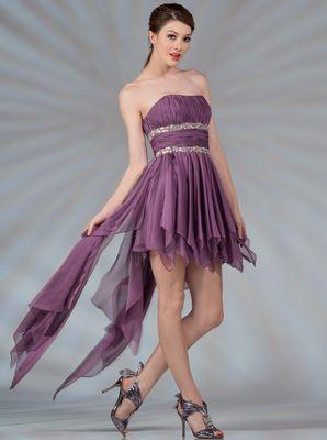 Handkerchief Prom Dresses