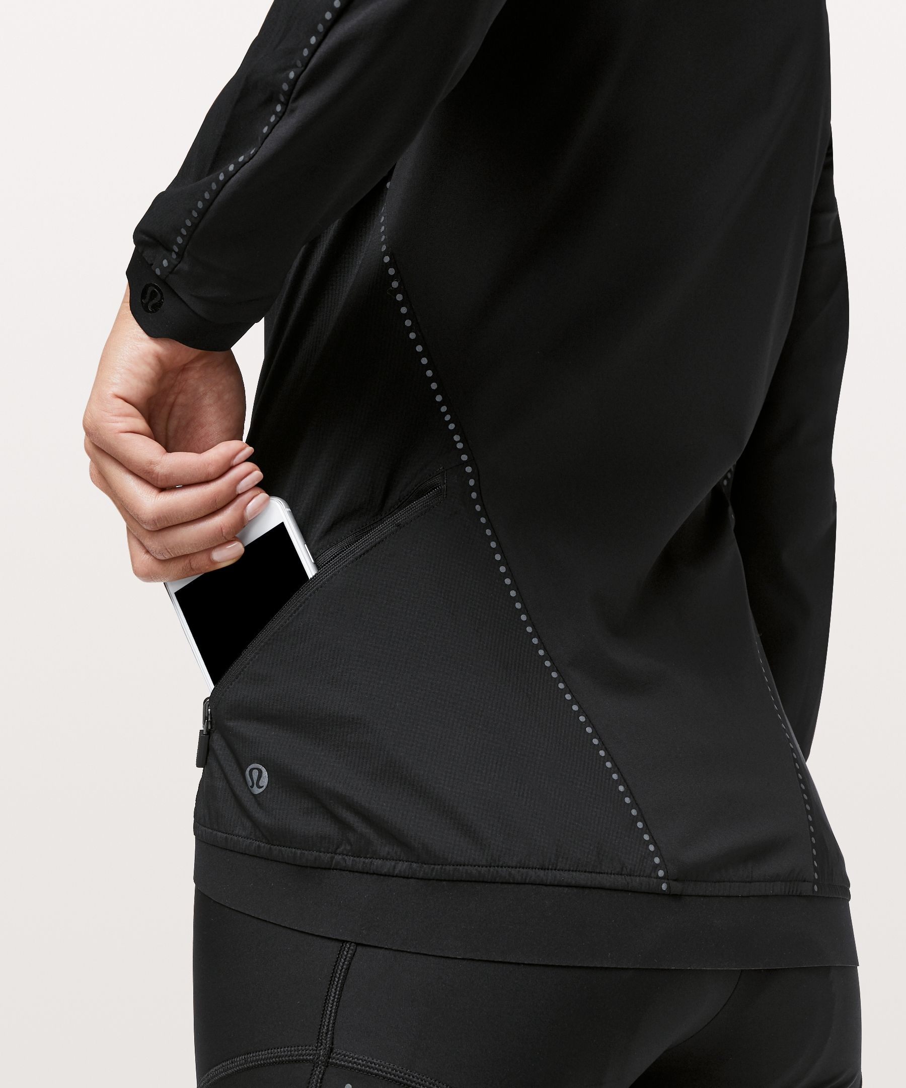 Lululemon Women S City To Summit Cycling Jacket Black Size Xl Jackets For Women Cycling Tops Jackets
