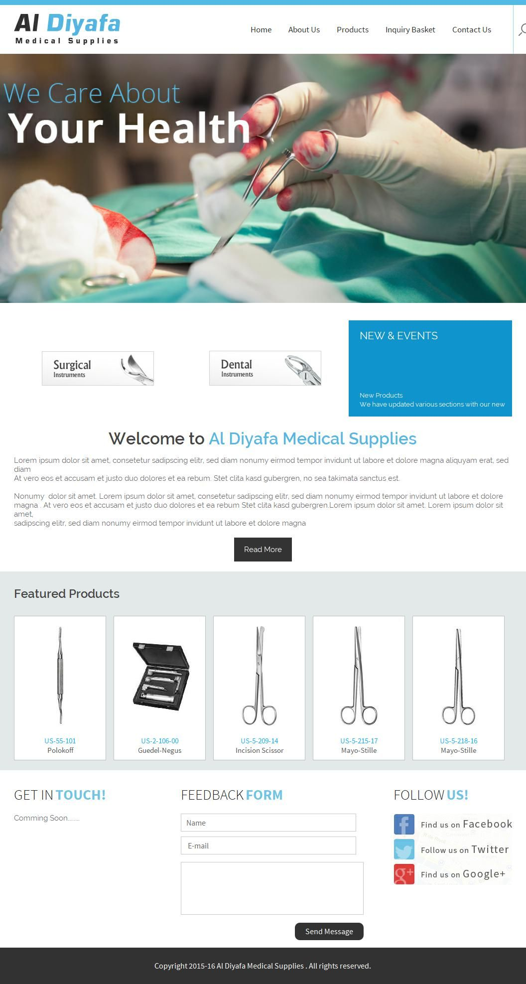 Al Diyafa Medical Supplies Trading Company Majara Plaza, 1/4, Saeed