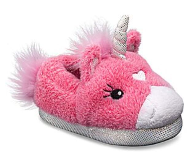 6128dd785 Every girl needs these Stride Rite lighted unicorn slippers. Light Up  Unicorn Slippers, Kids