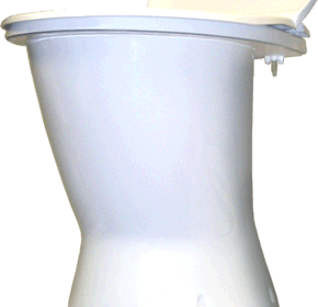 Clivus Multrum composting toilet systems