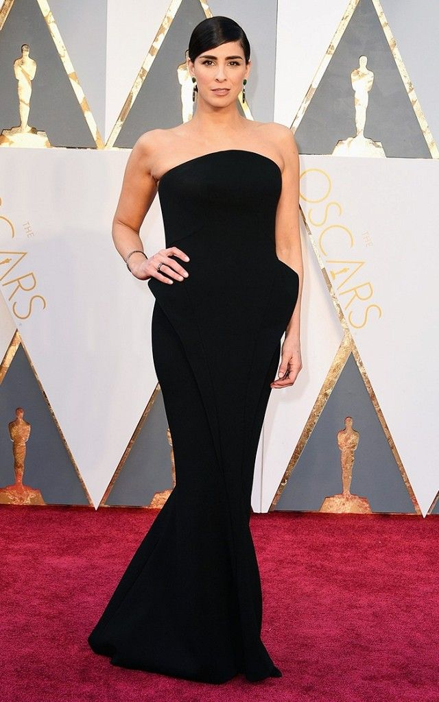The Oscars Red Carpet Looks Everyone Is Talking About Black Dress