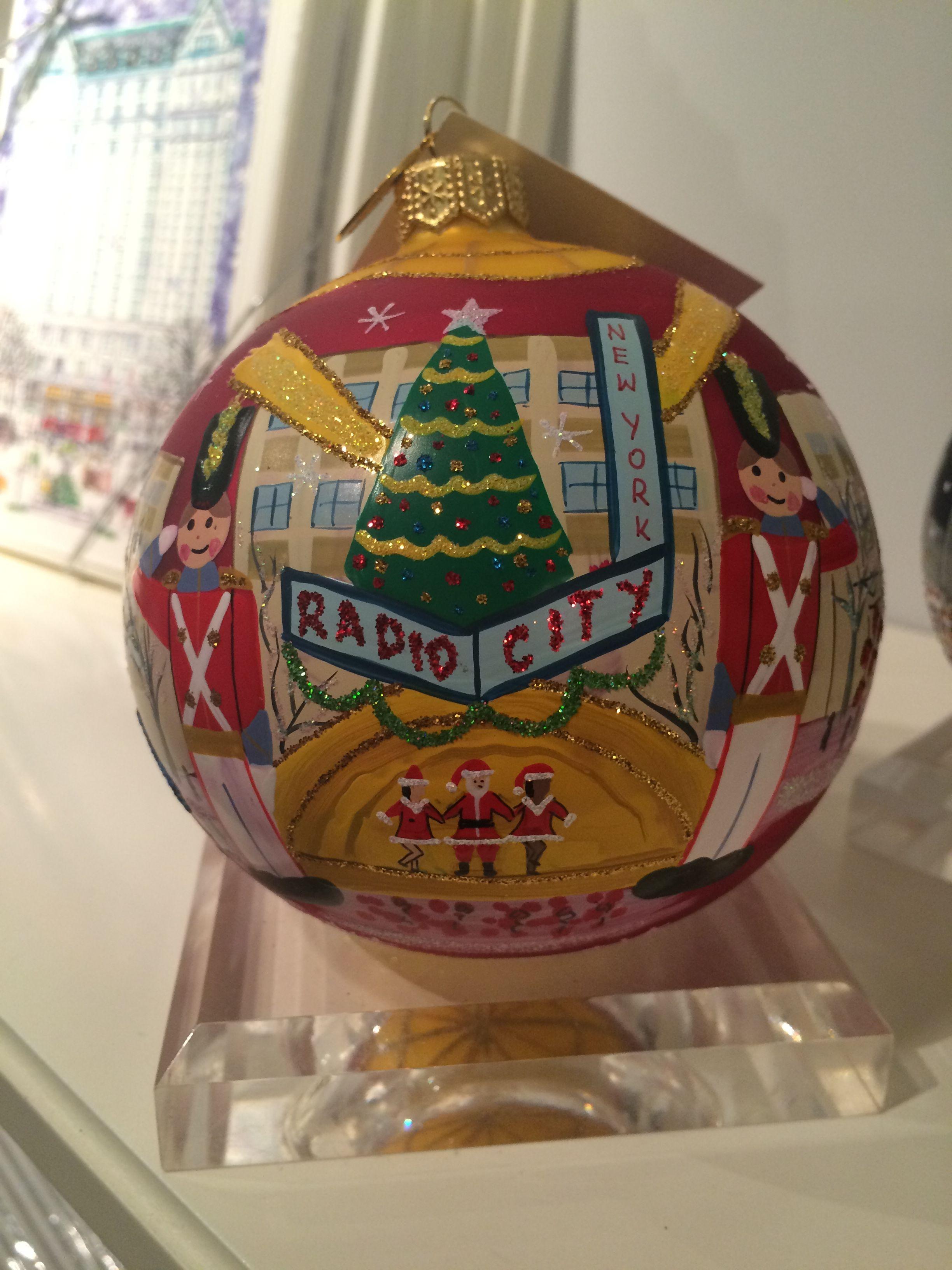My Rockefeller Center Ornament #Christmas #ornament #NY4Seasons #nyc ...