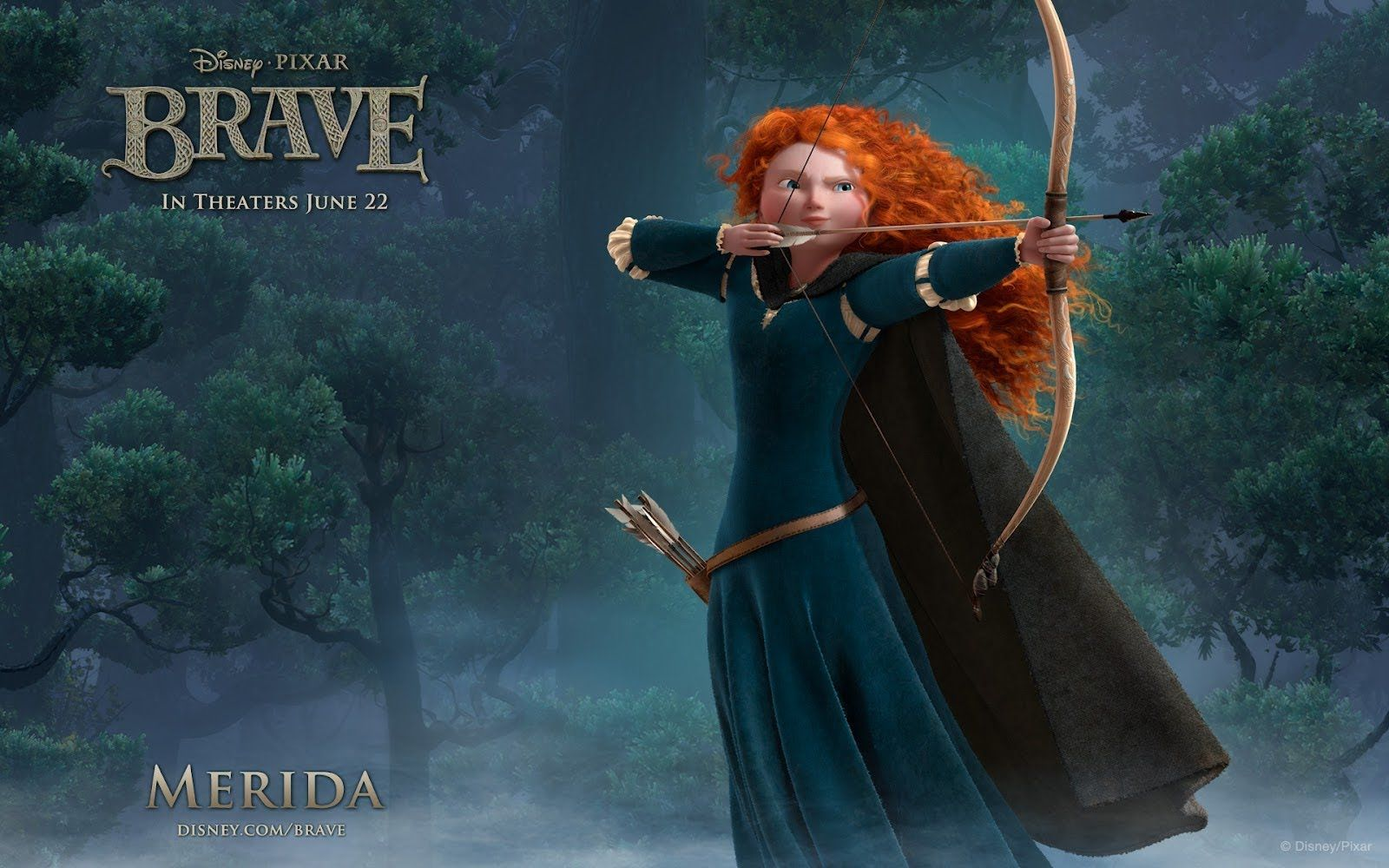 Valente Brave 2012 Filme Dublado Completo Princesa Merida Personagens Corajosos Filme Brave
