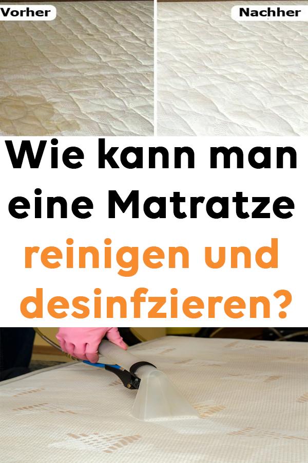 Wie Kann Man Eine Matratze Reinigen Und Desinfizieren House