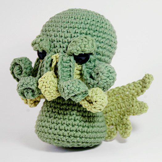 Designer Crochet Amigurumi Patterns Merida Warrior Princess : Amigurumi Cthulhu Cthulhu, Amigurumi and Crochet