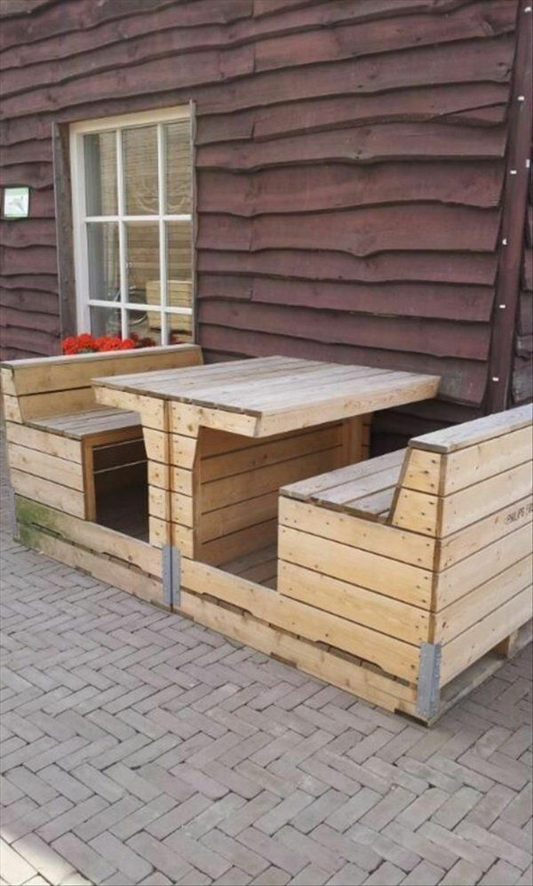 diy gartenmöbel aus paletten | Pallet projects | Pinterest ...