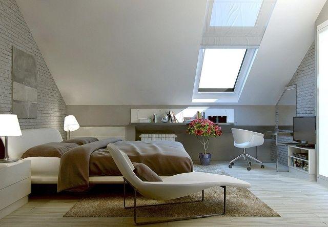 Farbe Schlafzimmer Dachschrage ? Bitmoon.info Farben Fr Schlafzimmer Mit Dachschrge