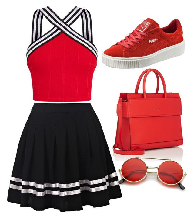 """""""School"""" by kwang-jantong on Polyvore featuring Puma, Givenchy and ZeroUV"""