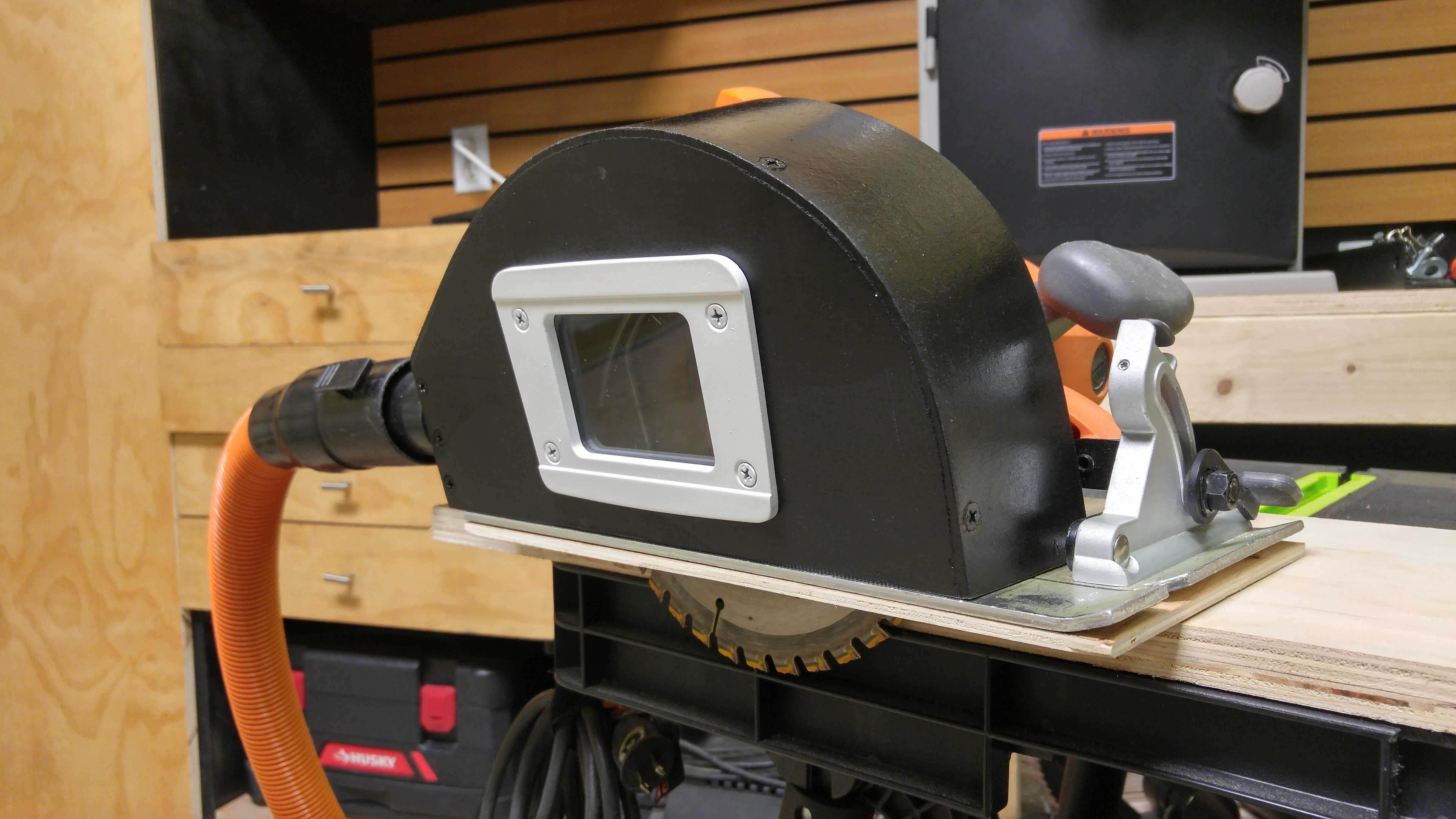 How To Make A Circular Saw Dust Collecting Attachment Circular Saw Dust Collection Best Circular Saw