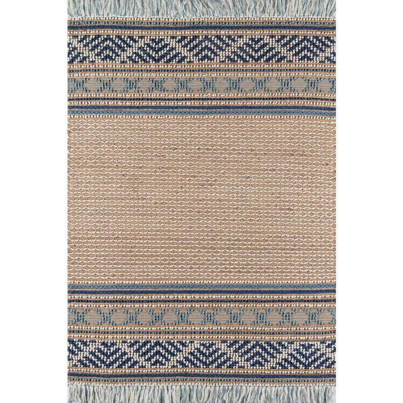 Esme Blue Hand Woven Area Rug 8 X 10 Area Rugs Hand Weaving