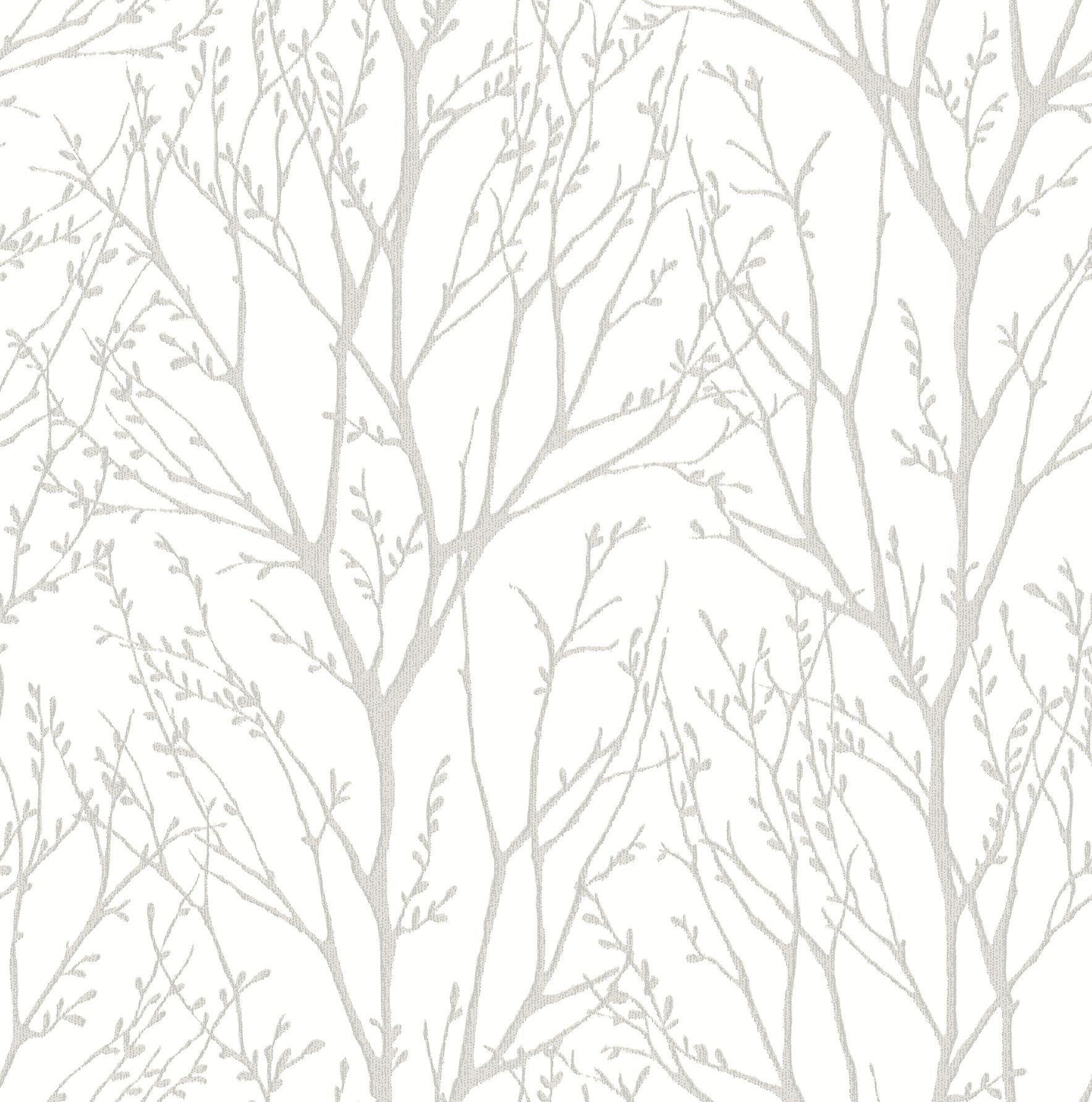"Azmaara 33' x 20.5"" Autumn Tree Wallpaper Tree branch"